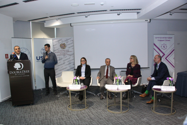 New Training Course on Civic Education in 5 HEIs of Armenia