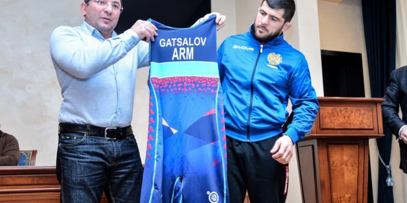 Olympic Champion Khadzhimurat Gatsalov will Represent Armenia in Freestyle Wrestling