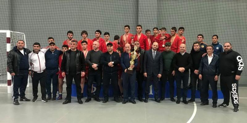 Հայտնի են սամբոյի Հայաստանի պատանեկան և երիտասարդական առաջնությունների չեմպիոնները
