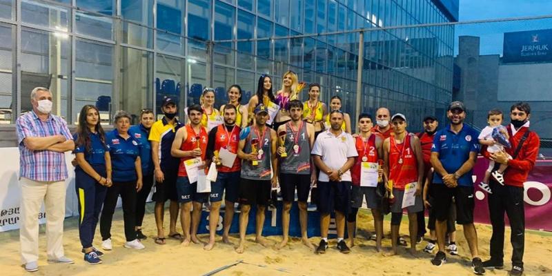 Հայտնի են լողափնյա վոլեյբոլի Հայաստանի տղամարդկանց և կանանց առաջնությունների չեմպիոնները