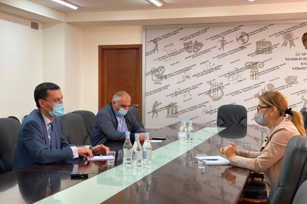 Every effort will be made to ensure the continuity of education of Artsakh students