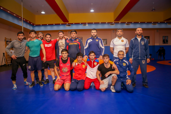 The composition of the Armenian national freestyle wrestling team at the World Championship is known
