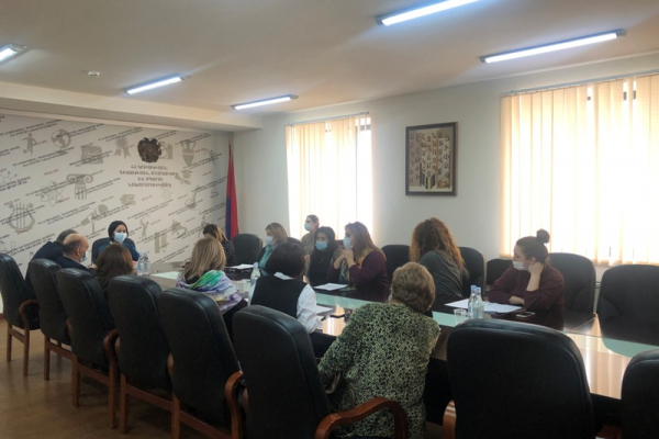 ESCS Deputy Minister meets with representatives of the Association for Private Preschool Institutions