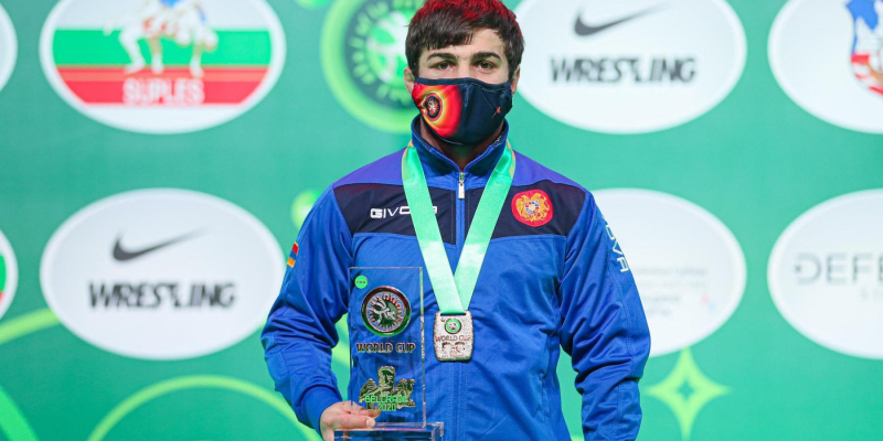 Vazgen Tevanyan is a gold medalist at the Individual World Cup Competition