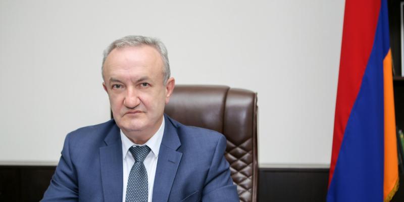 Message of the ESCS Minister Vahram Dumanyan