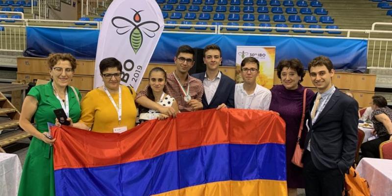 Կրկին մեդալներ՝ դպրոցականների միջազգային օլիմպիադաներում