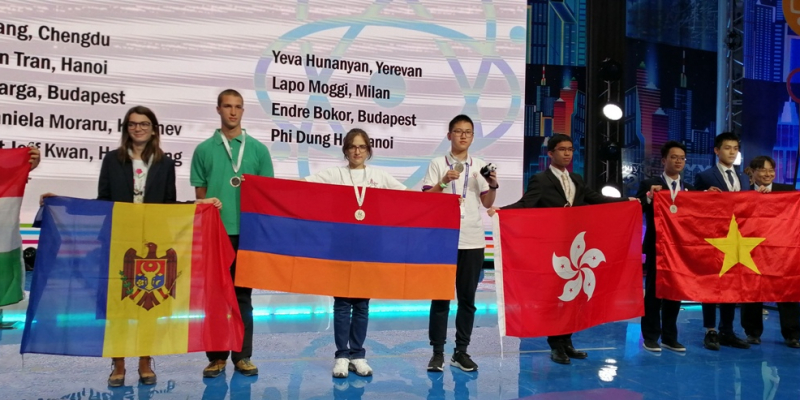 4 արծաթե և 3 բրոնզե մեդալներ՝ Մեգապոլիսների 4-րդ միջազգային առարկայական օլիմպիադայում
