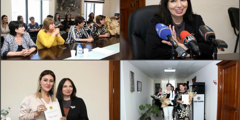 Հոկտեմբերի 7-ը Գրադարանավարի օրն է. գրադարանային ոլորտի մի խումբ աշխատակիցներ պարգևատրվել են ԿԳՄՍ նախարարության պատվոգրով