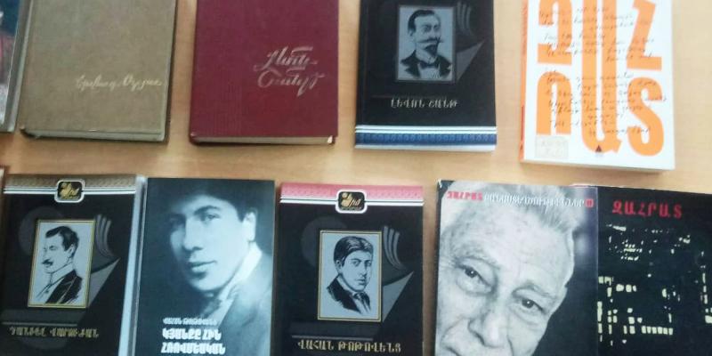 Խնկո Ապոր անվան ազգային մանկական գրադարանի նախաձեռնությամբ կանցկացվի «Արևմտահայ գրողներ» խորագրով մեկամսյակ