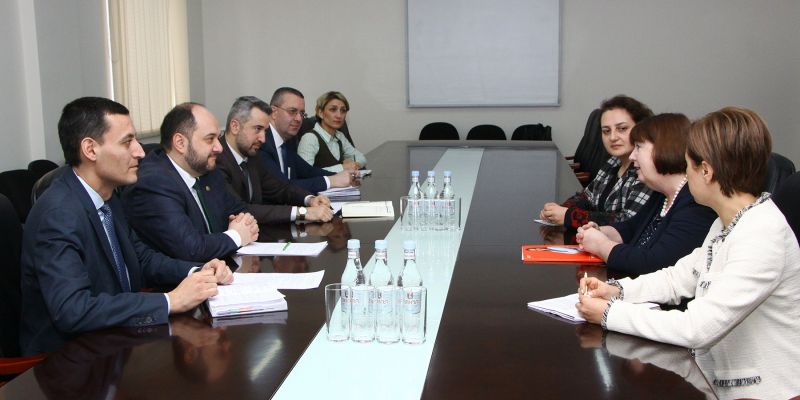 RA Minister of Education, Science, Culture and Sports A. Harutyunyan Receives the Representatives of the British Council