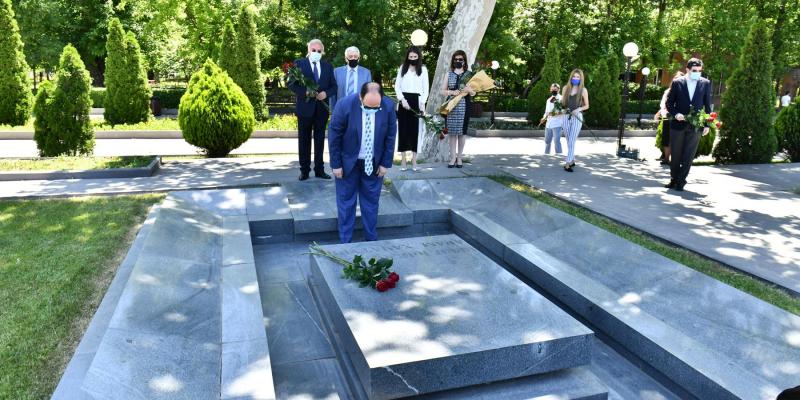 Խաչատրյանի անվան միջազգային մրցույթը ոչ միայն Հայաստանի, այլև շատ երկրների մշակութային կյանքում կարևոր իրադարձություն է. Ա. Հարությունյան