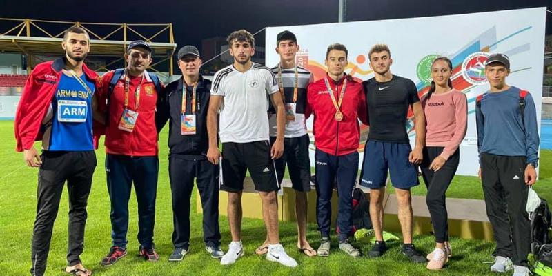 Հայ աթլետները երկու մեդալ են նվաճել Բալկանյան երկրների Մ-20 առաջնությունում
