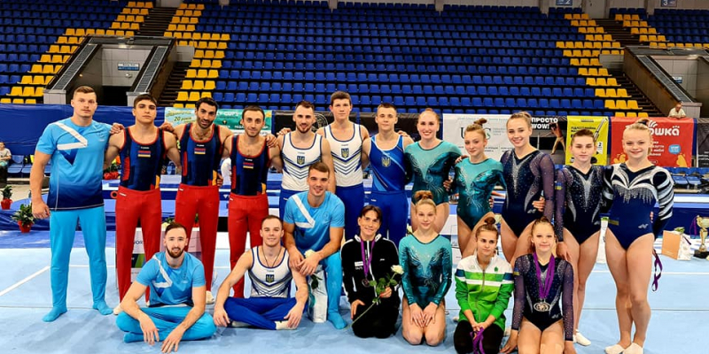 Հայ մարմնամարզիկները մեդալներ են նվաճել Ukraine International Cup 2020 մրցաշարում