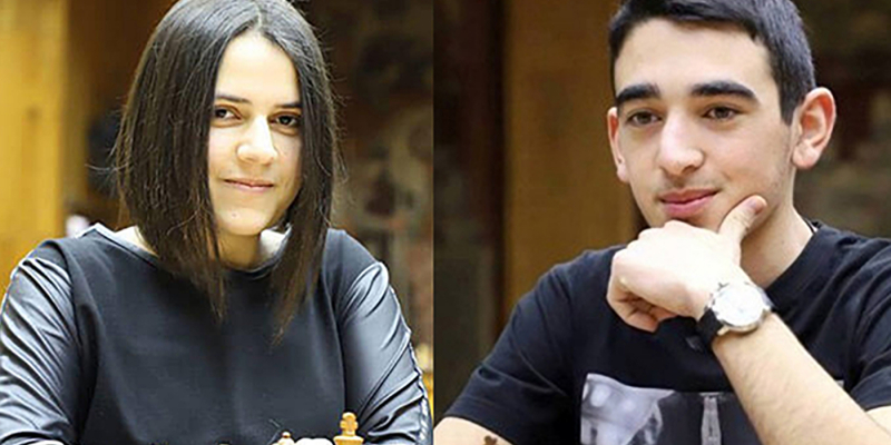 Հայկ Մարտիրոսյանը և Աննա Սարգսյանը՝ աշխարհի առցանց ուսանողական առաջնության հաղթողներ