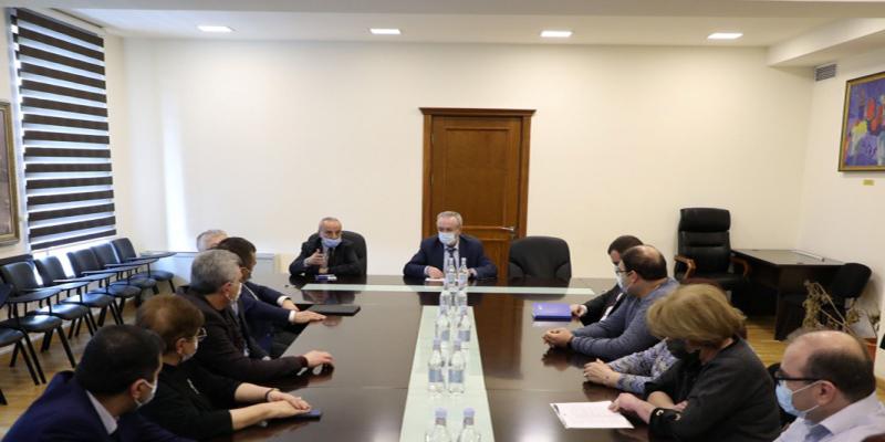 ESCS Minister receives representatives of ANQA