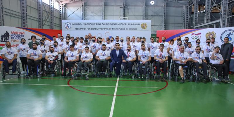 Առաջին անգամ անցկացվել է Հայաստանի հաշմանդամային բազկամարտի պաշտոնական առաջնությունը