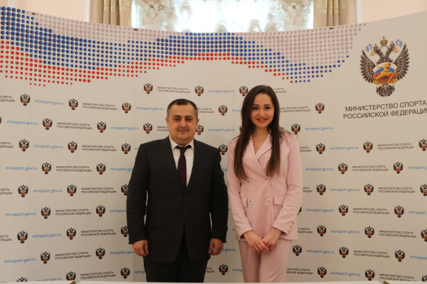 Deputy Ministers of the RA ESCS and Ministry of Sports of the Russian Federation discuss the new perspectives for the development of the Armenian-Russian cooperation