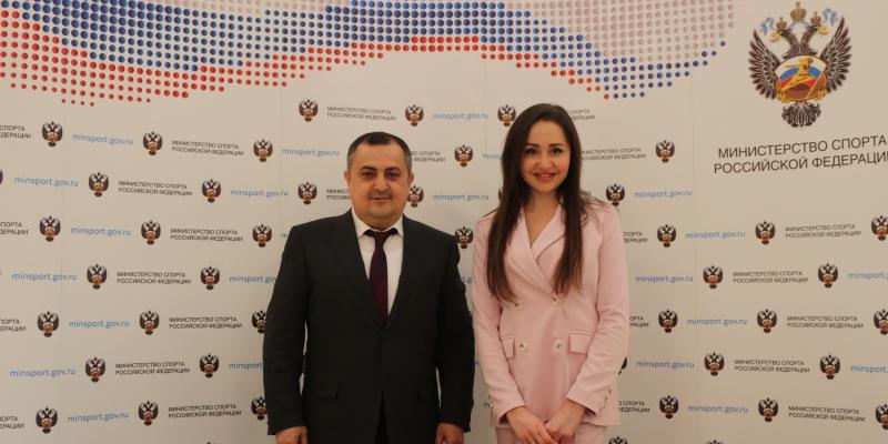 Заместители министров НОКС РА и спорта РФ обсудили новые перспективы развития армяно-российского сотрудничества