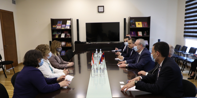 New opportunities for the development of Armenian-Lebanese relations in the field of sports and youth