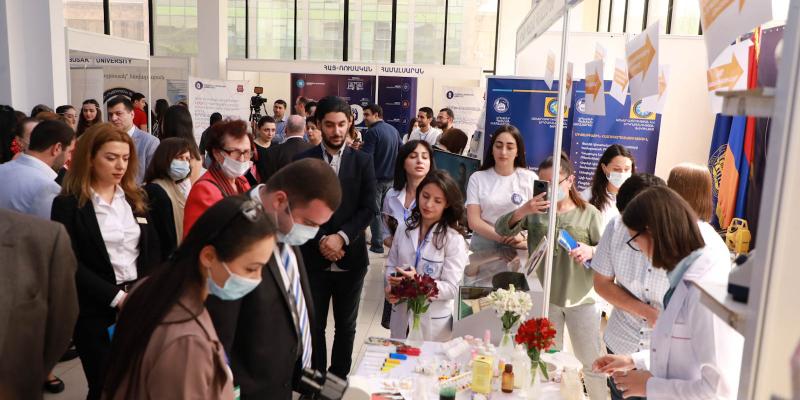 «Կրթություն և կարիերա EXPO-2021» ցուցահանդեսին ներկայացել են ավելի քան 80 կրթօջախներ