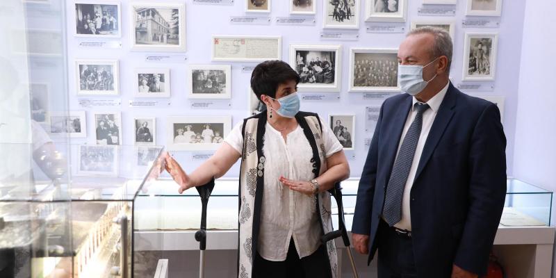 Vahram Dumanyan visits Alexander Spendiaryan House-Museum