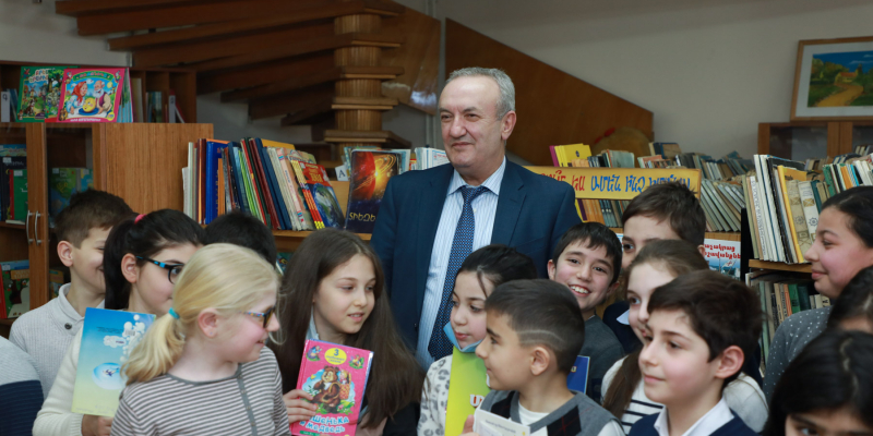 Vahram Dumanyan's congratulatory message on the occasion of International Children's Day