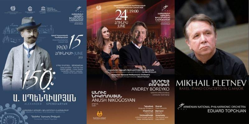 Հայաստանի ազգային ֆիլհարմոնիկ նվագախմբի առաջիկա համերգները