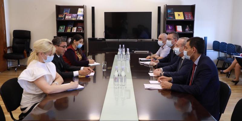 Քննարկվել են հայ-թուրքմենական համագործակցության զարգացման նոր հեռանկարները