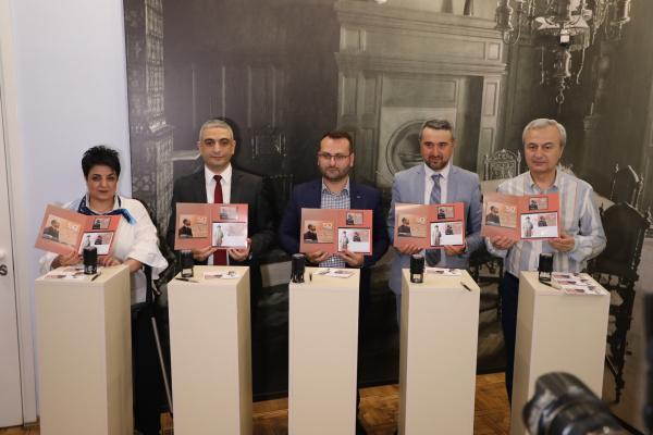 Состоялась торжественная церемония гашения юбилейной марки «А. Спендиарян-150»