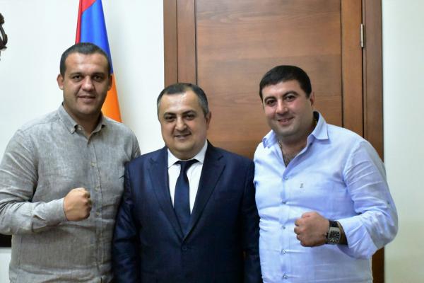 Новые перспективы развития армянского бокса։ Карен Гилоян принял президента Международной ассоциации бокса (AIBA)
