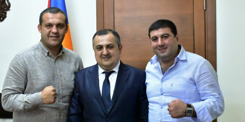 New perspectives for the development of Armenian Boxing։ Karen Giloyan receives the President of AIBA