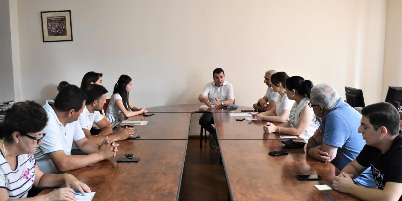 Տեղի է ունեցել գյուղատնտեսության ոլորտի որակավորումների շրջանակի մշակման աշխատանքային խմբի անդրանիկ հանդիպումը