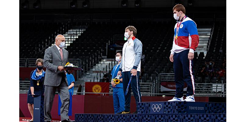 Արթուր Ալեքսանյանը՝ Օլիմպիական խաղերի արծաթե մեդալակիր