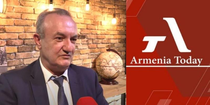 ՀՀ ԿԳՄՍ նախարար Վահրամ Դումանյանի ճեպազրույցը Armenia Today էլեկտրոնային կայքին