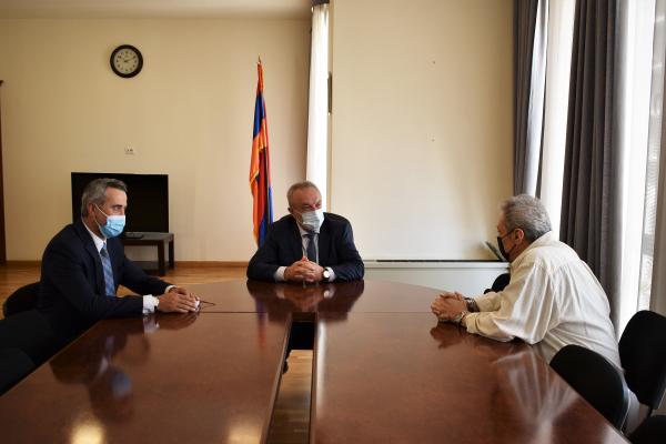 Ваграм Думанян:«Участие деятелей искусства, имеющих международное признание, является одним из приоритетов в государственной культурной политике министерства»