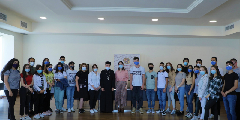 Համահայկական ճանաչողական և համագործակցության միջոցառման մասնակից վիրահայ երիտասարդներն այցելել են ԿԳՄՍՆ
