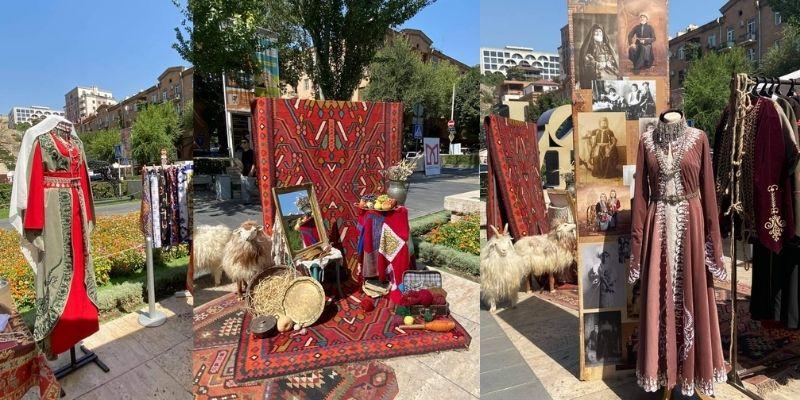 Ավանդական արհեստների ցուցադրություն՝ «Իմ ձեռագործ Հայաստանը» փառատոնին