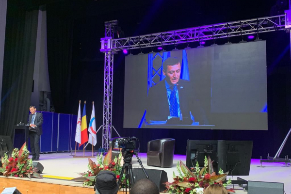 In the favor of the development of the Francophone educational and cultural environment: A. Martirosyan participates in the Francophonie Conference