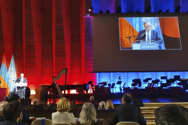 An event dedicated to the 100th anniversary of the birth of Henri Verneuil is held at the UNESCO Headquarters in Paris