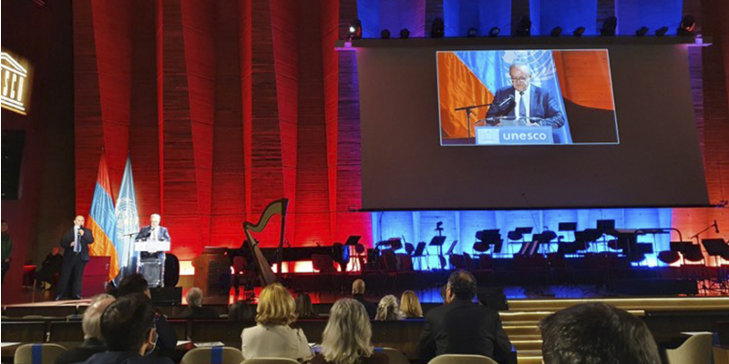 Փարիզում նշել են Անրի Վեռնոյի 100-ամյակը. միջոցառումներին ներկա է եղել ԿԳՄՍ նախարար Վահրամ Դումանյանը
