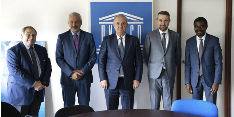 Vahram Dumanyan and Ernesto Ottone discuss the prospects for expanding further cooperation